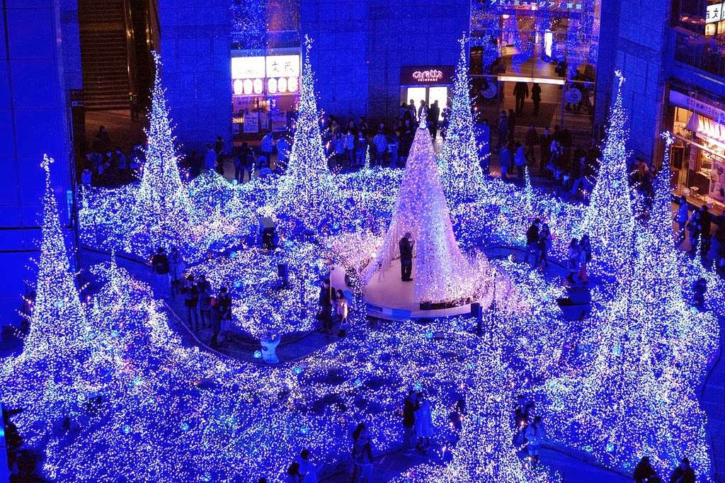Navidad en Japón - iluminación