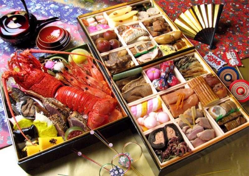 Navidad en Japón - osechi ryori