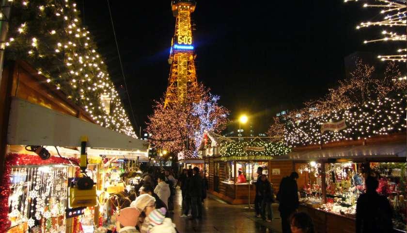 Navidad en Japón- mercados