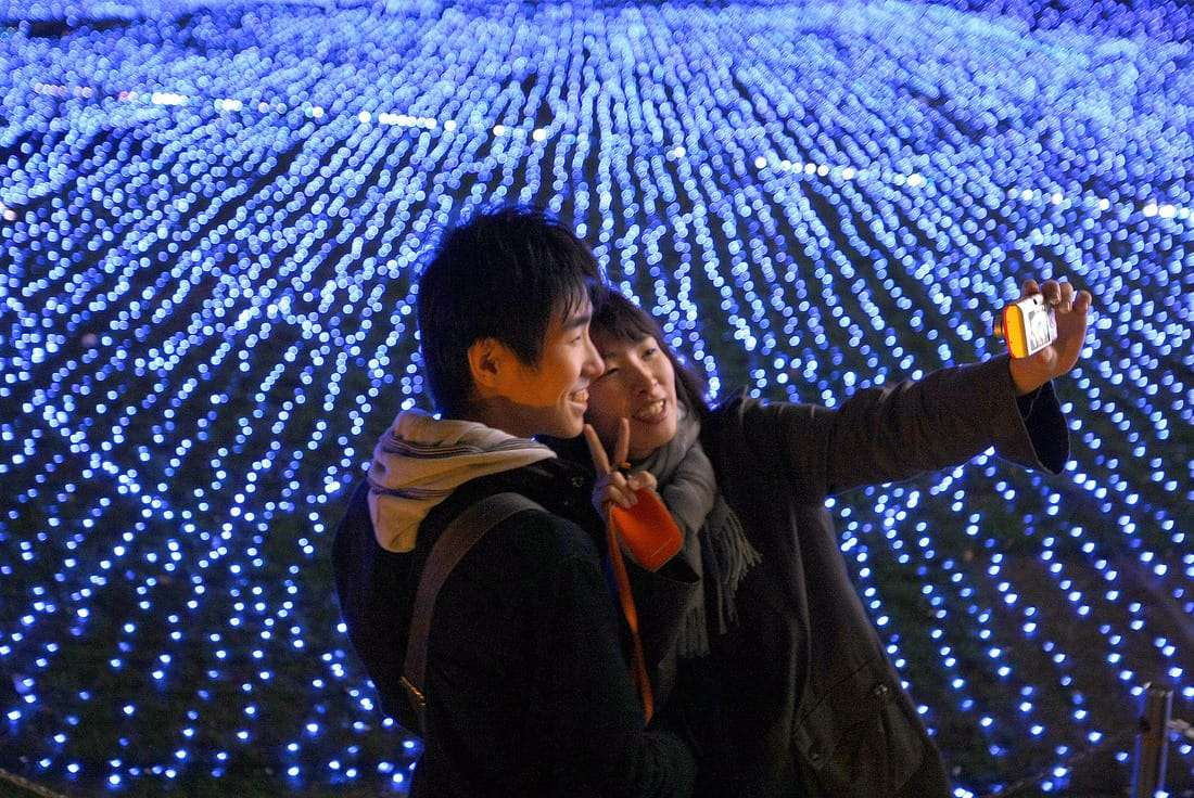 Navidad en Japón romantica