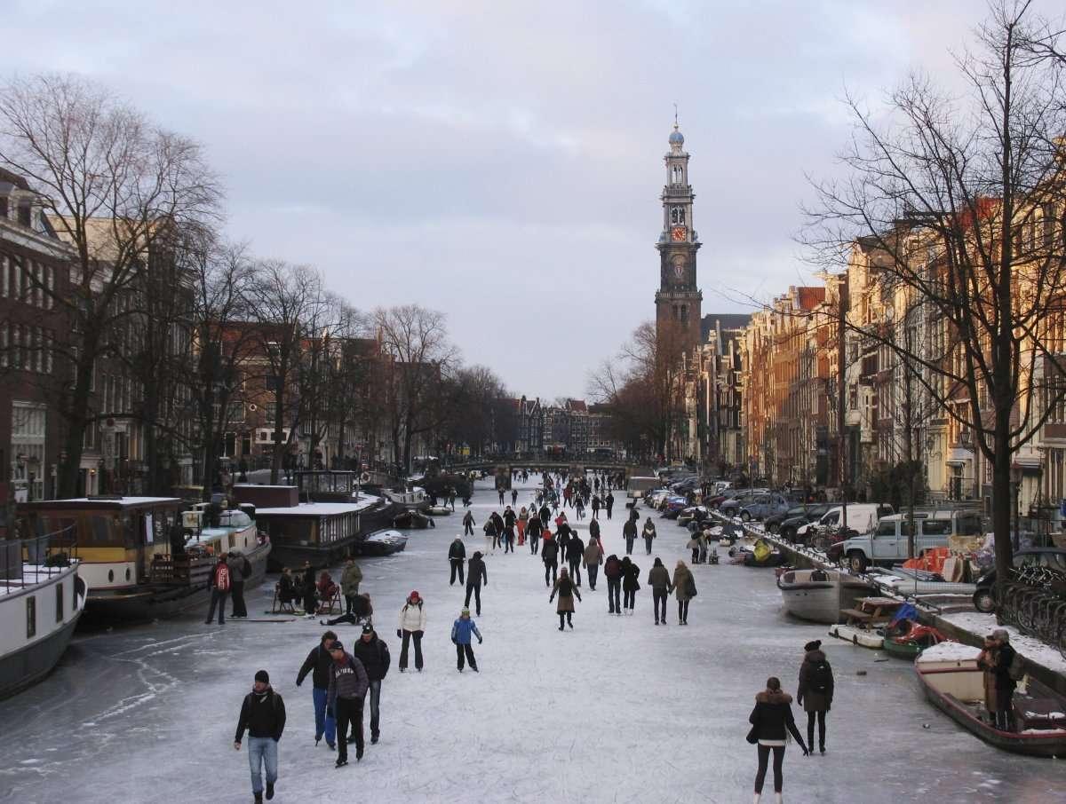 Pistas de hielo - Ámsterdam