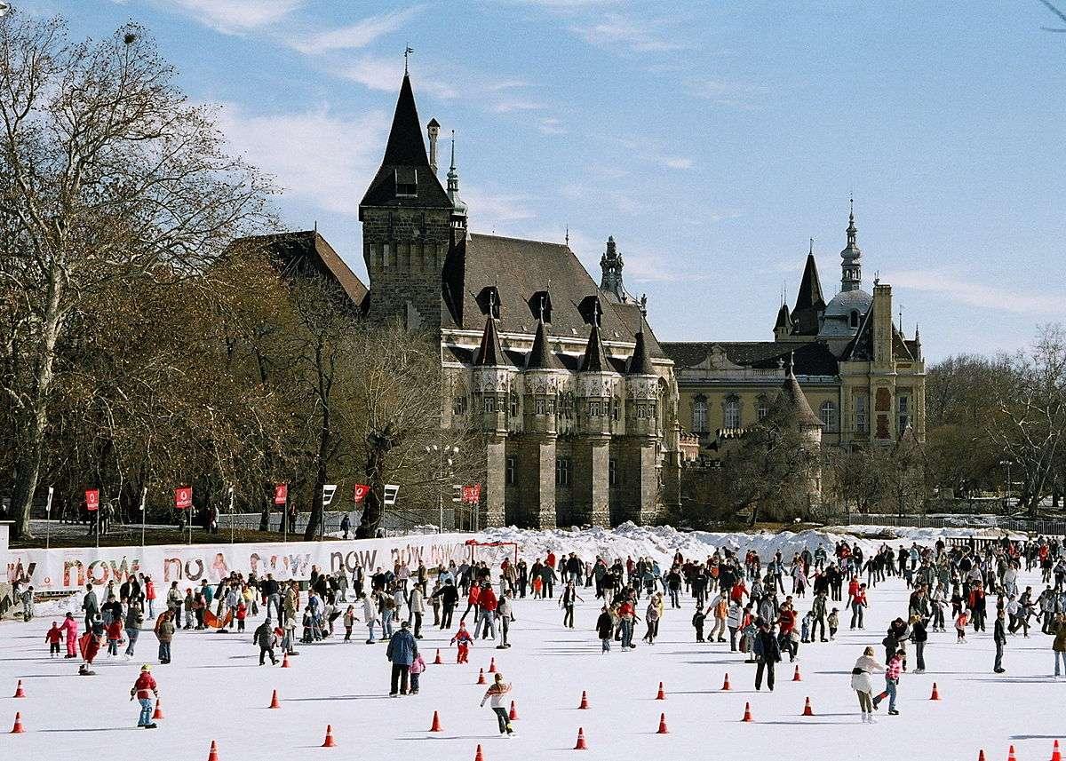 Pistas de hielo - Budapest