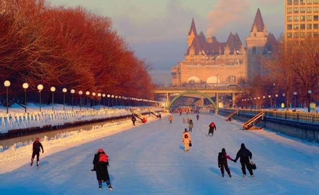 Pistas de hielo - Canadá
