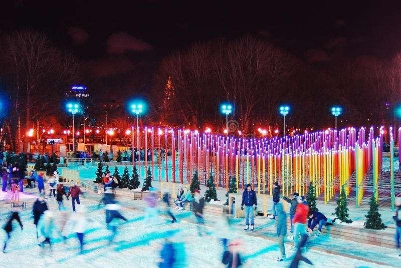 Pistas de hielo - Moscú