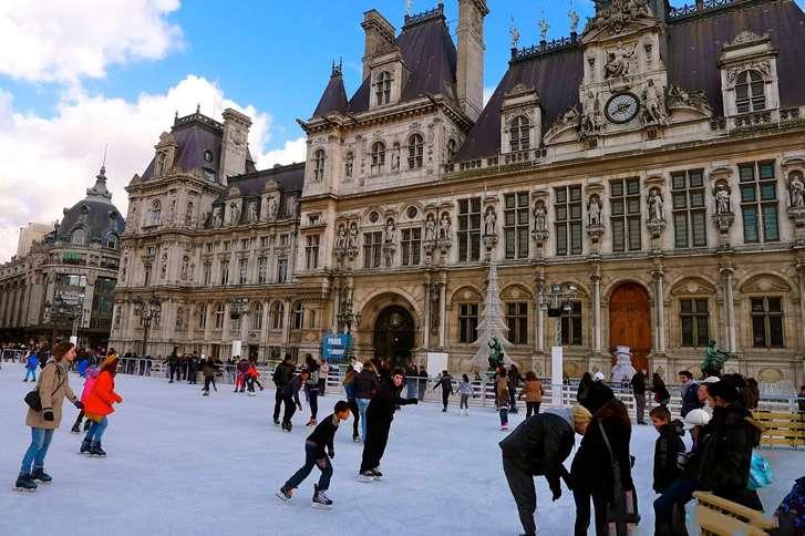 Pistas de hielo - París