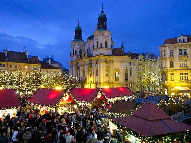 Viajar en Navidad - Praga