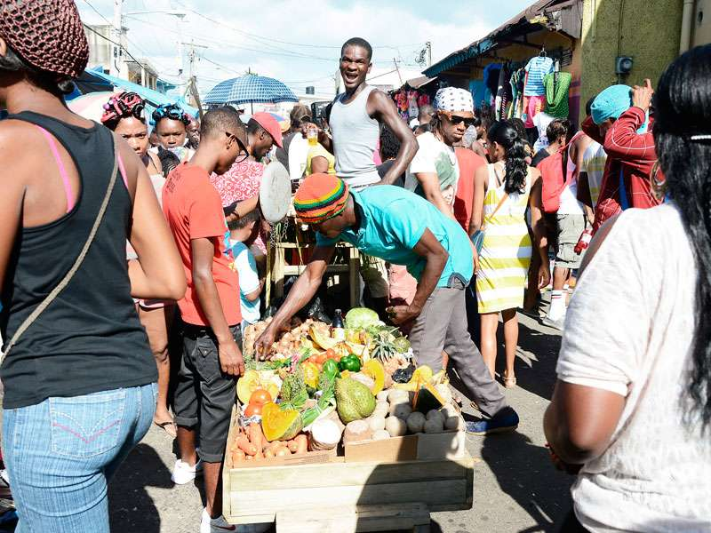 Navidad en Jamaica - Grand Market