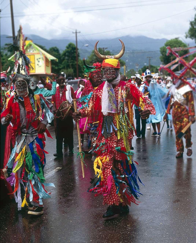 Navidad en Jamaica - Jonkonnu