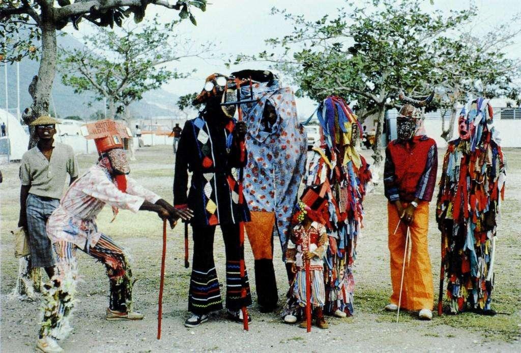Navidad en Jamaica - disfraces