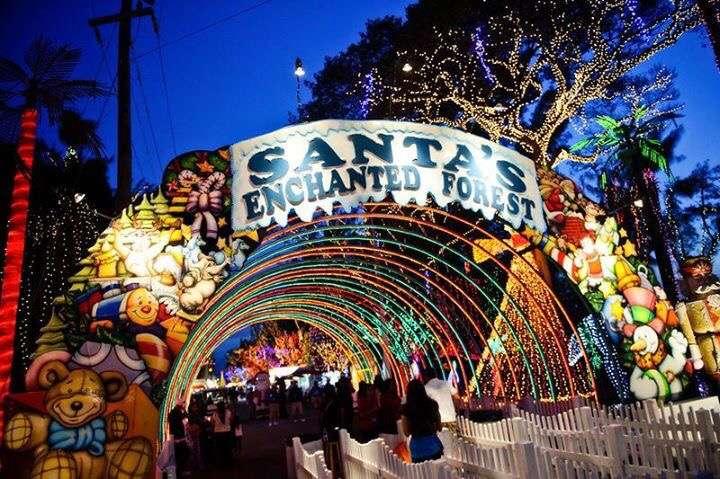 Los mejores parques temáticos de Navidad - en Miami