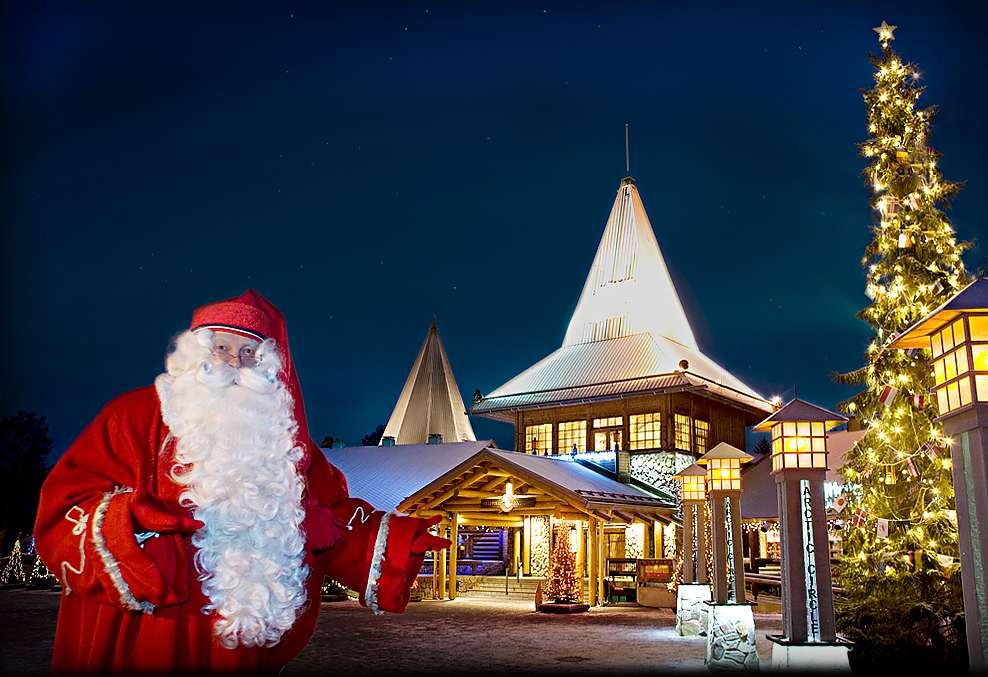 Los mejores parques temáticos de Navidad - Santa Claus