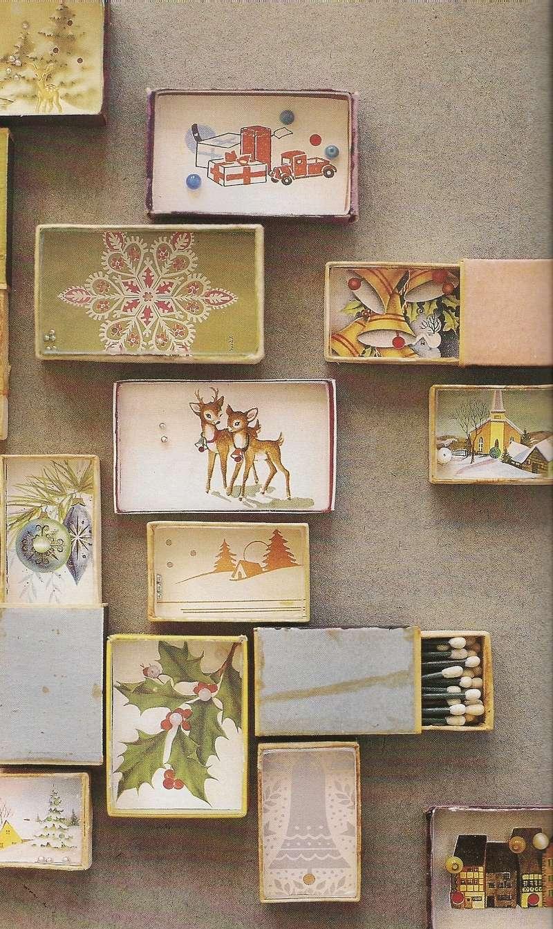 manualidades de Navidad - calendario
