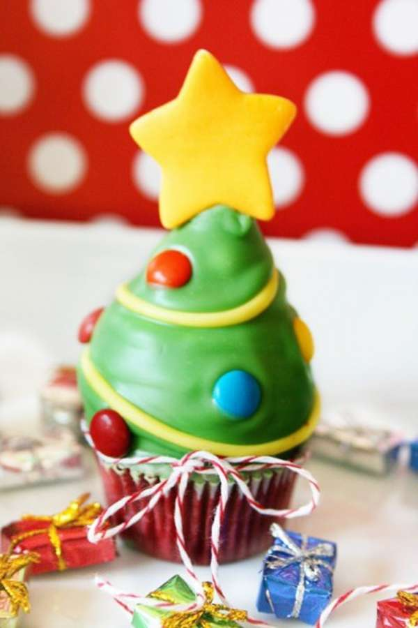 Recetas de Navidad - Cupcakes de Navidad