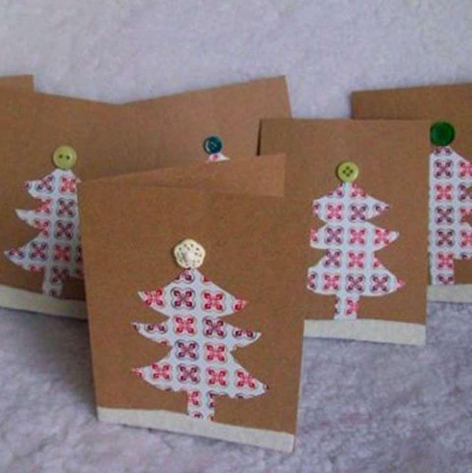 6 tarjetas de felicitación navideña que puedes hacer con tus hijos 1