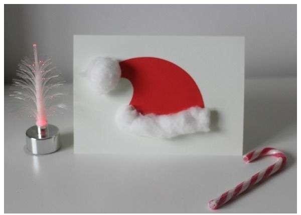 6 tarjetas de felicitación navideña que puedes hacer con tus hijos 2