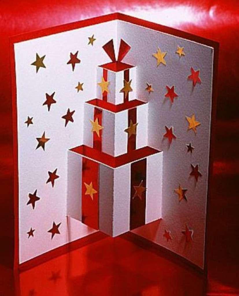 6 tarjetas de felicitación navideña que puedes hacer con tus hijos 4