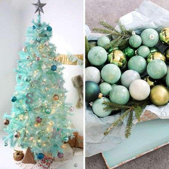 Árboles de Navidad de colores
