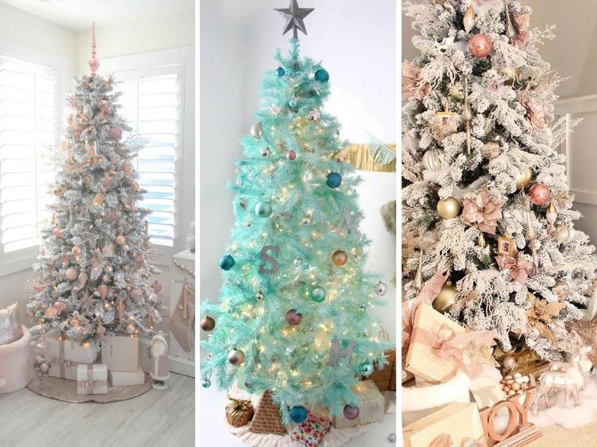 Árboles de Navidad de colores: cómo conseguirlos