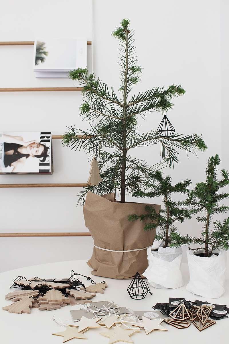 Decoración low cost - árbol de Navidad