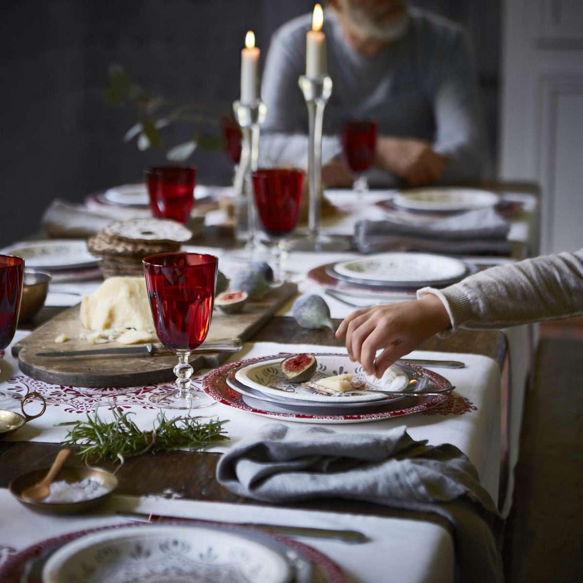 Colección navideña de Ikea - decoración mesa