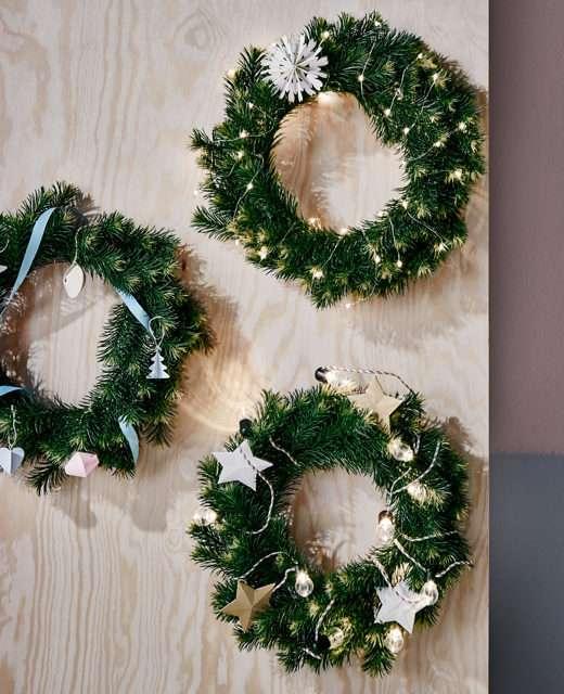 Colección navideña de Ikea - adornos