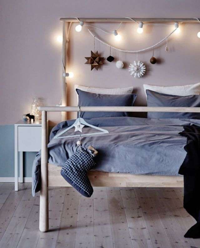 Colección navideña de Ikea - dormitorio