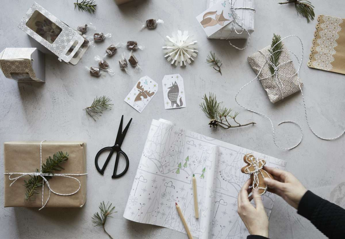Colección navideña de Ikea - regalos