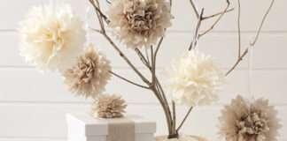 Adornos de Navidad - pompones