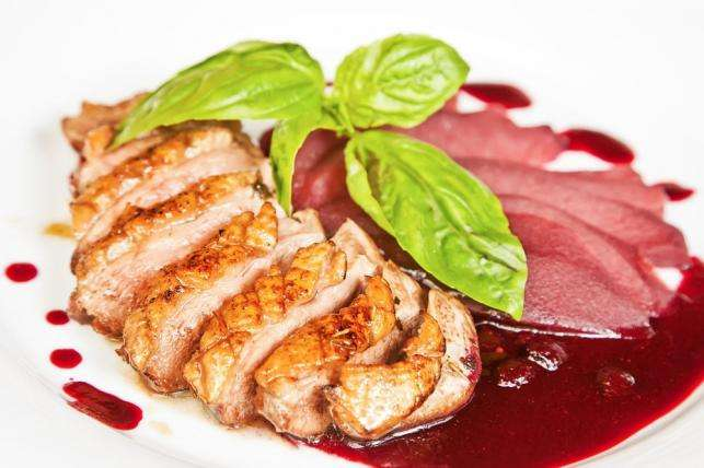 Recetas fáciles - Magret de pato con salsa de granada