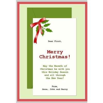 Felicitar la Navidad