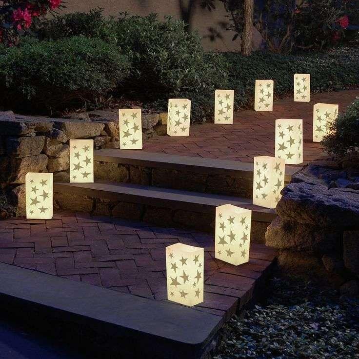 Iluminación de Navidad - farolillos de luz