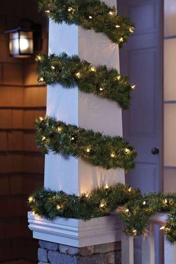 Iluminación de Navidad - guirnaldas
