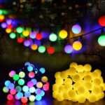 Iluminación de Navidad - Bolas multicolores