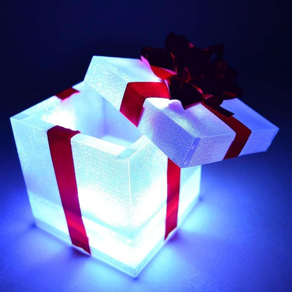 Iluminación de Navidad - Cajas de regalo iluminadas