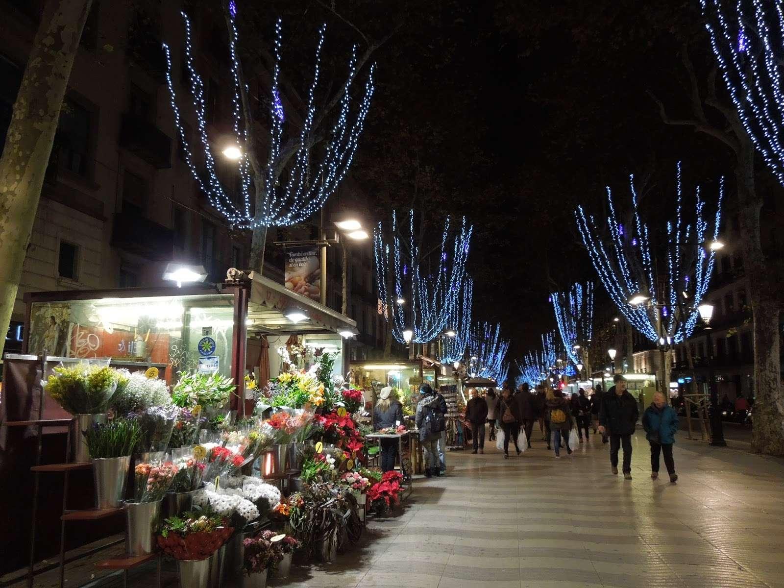 Iluminación navideña Barcelona
