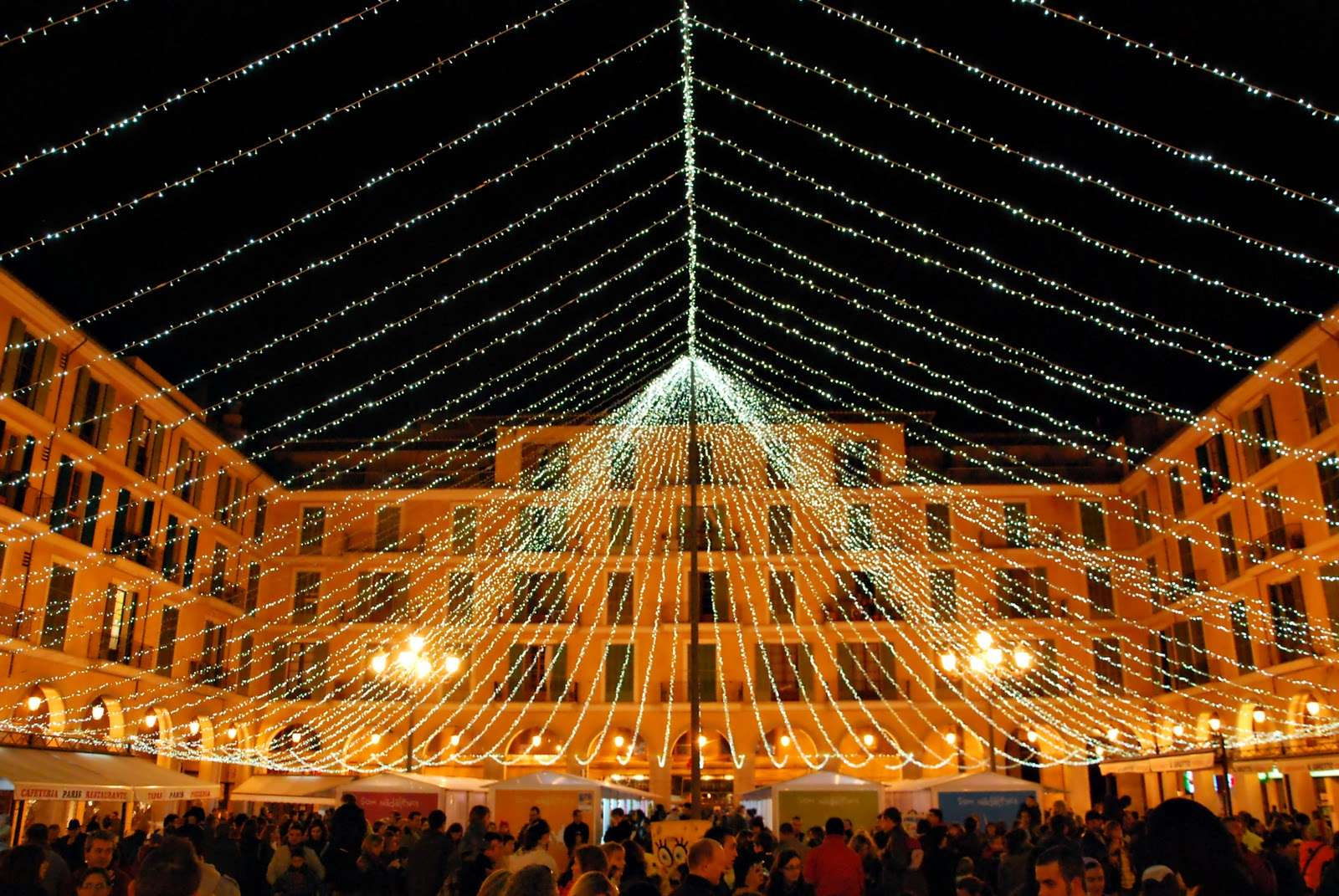 Iluminación navideña Palma de Mallorca