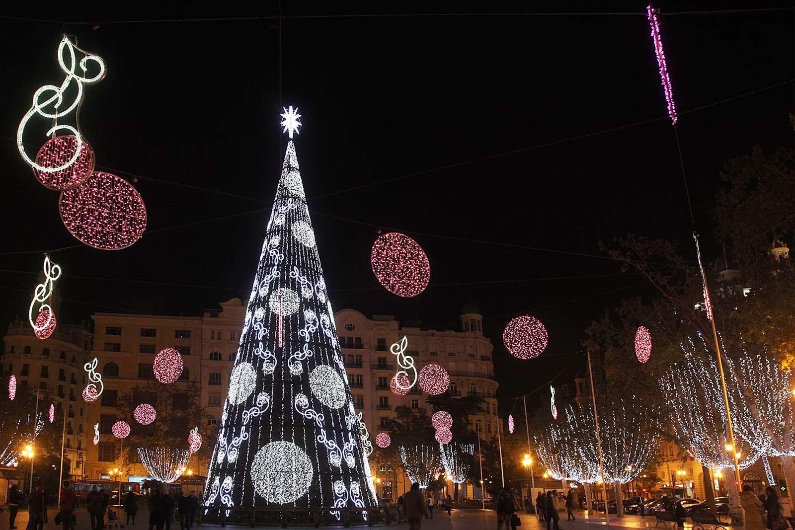 Iluminación navideña Valencia