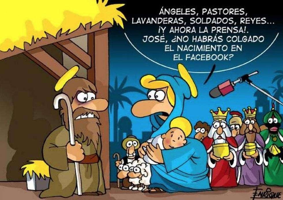 Felicitaciones de Navidad graciosas para enviar por Facebook y WhatsApp 1