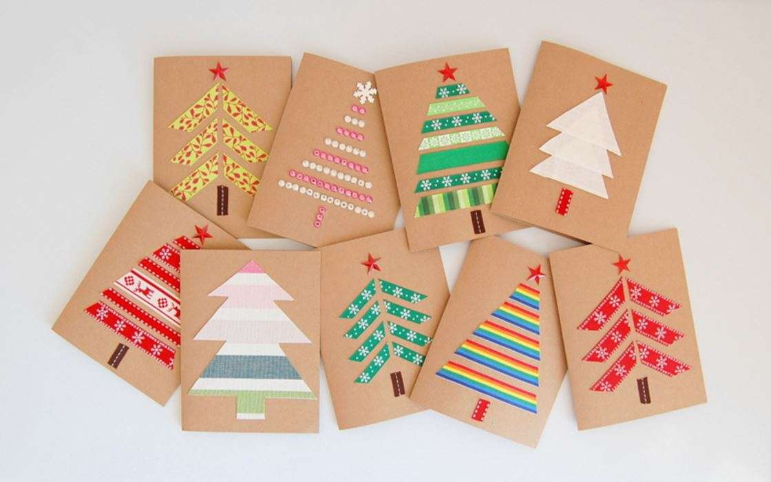 Felicitaciones De Navidad Para Infantil.Tarjetas De Felicitacion De Navidad Para Hacer Con Los Ninos