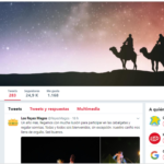 Reyes Magos - Twitter