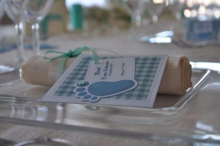 Ideas para crear invitaciones de bautizo originales