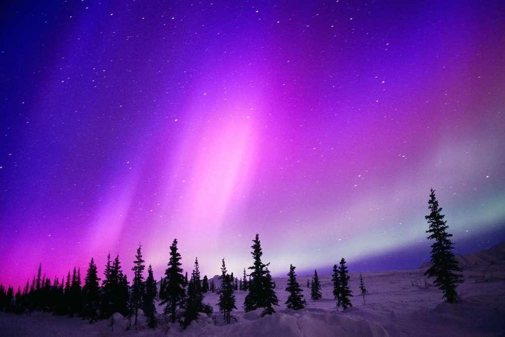 Navidad diferente - Aurora Boreal