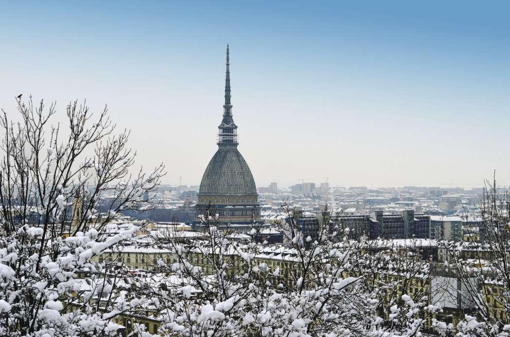 ciudades cubiertas de nieve