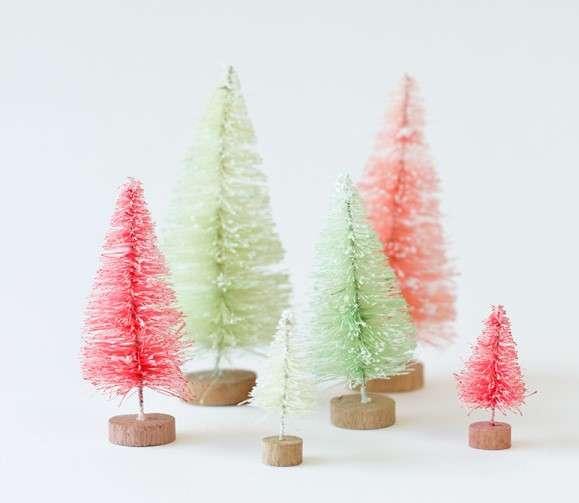 adornos navideños - árbolitos