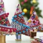 decoración de Navidad - árbolitos