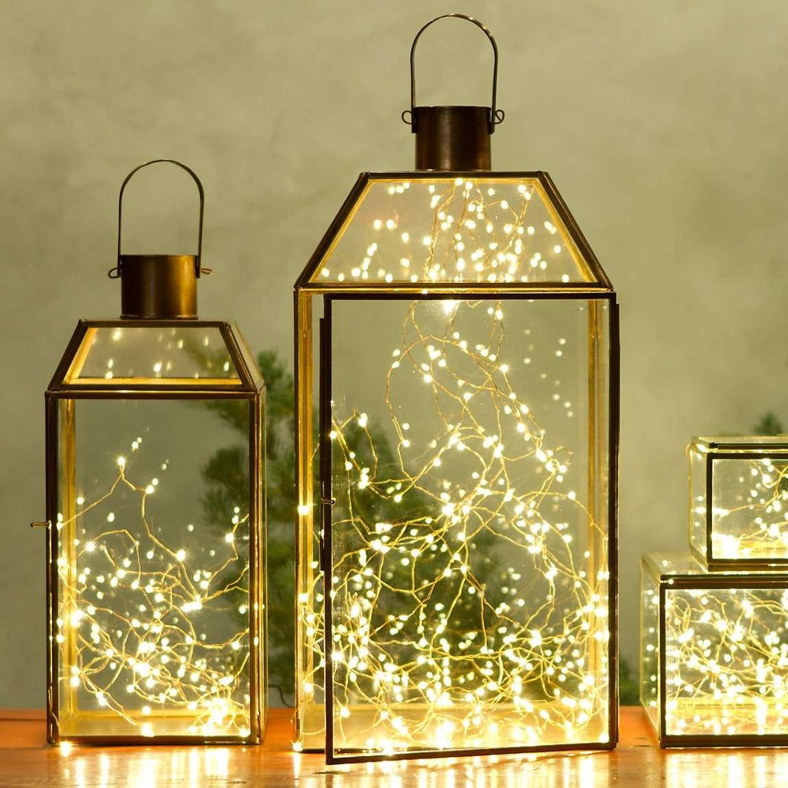 decoración de Navidad - faroles
