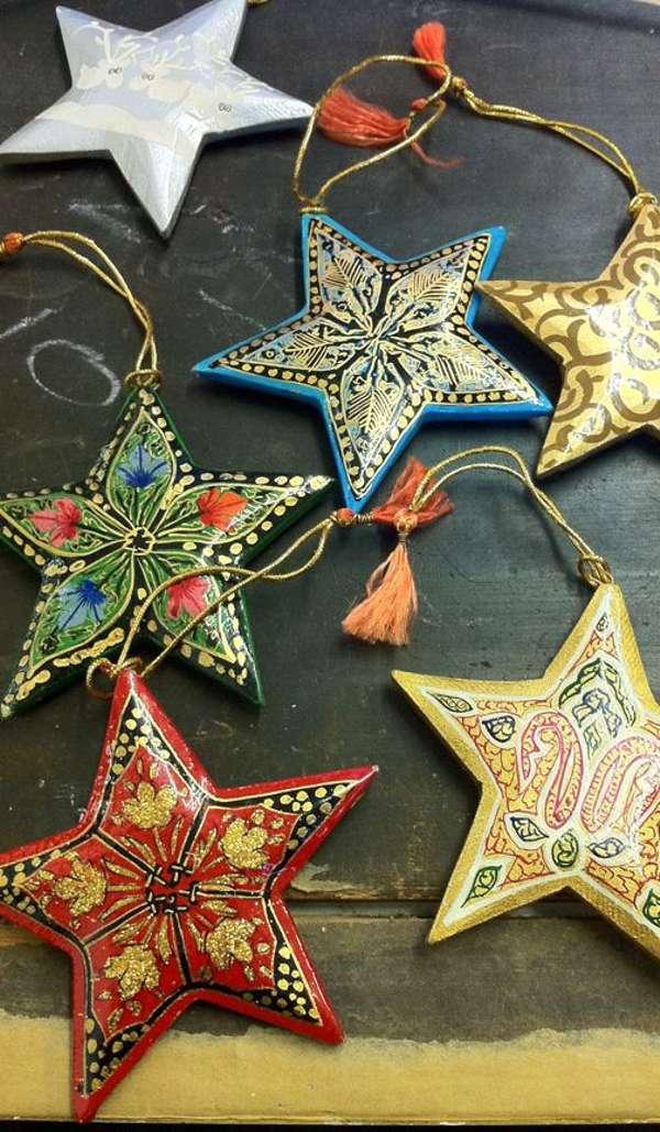 decoración de Navidad - estrellas