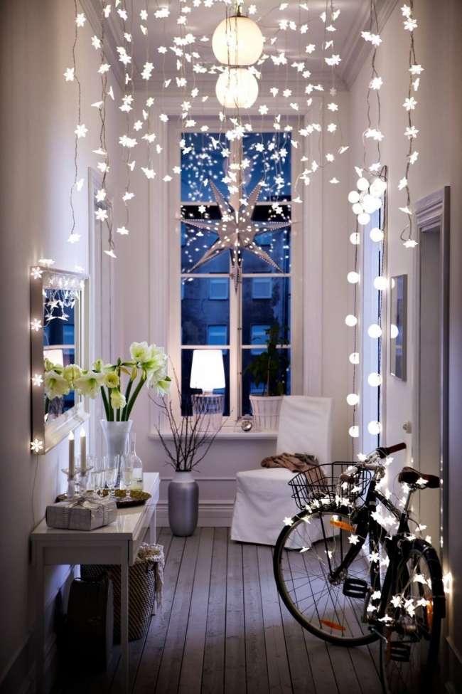 decoración de Navidad de estilo bohemio