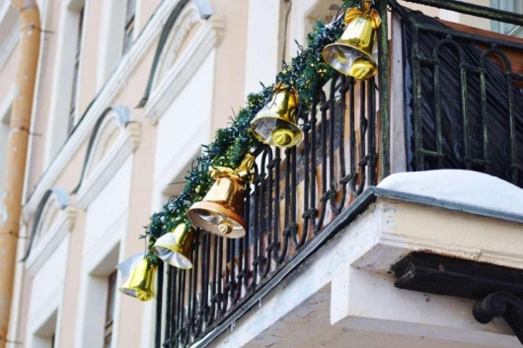 jardines navideños - balcones