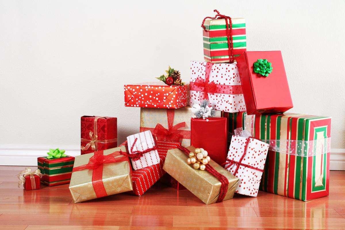 celebrar la Navidad - regalos